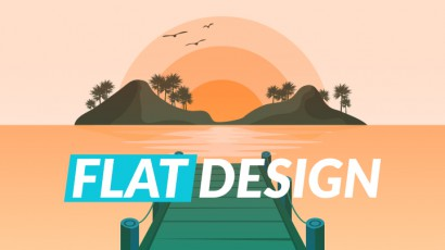 آموزش طراحی گرافیک فلت FLAT DESIGN