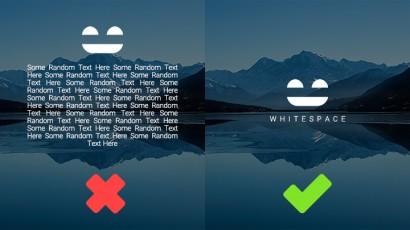 فضای خالی در طراحی گرافیک (Whitespace)